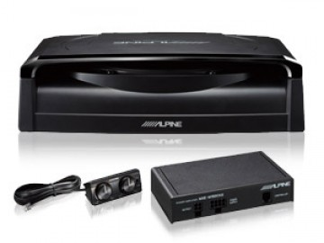 poza Subwoofer Alpine SWE-1200 Included Amplifier 150 Watts RCA