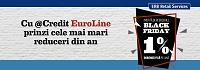 """Credit Euroline PROMOTIE """"1% PE LUNA"""""""