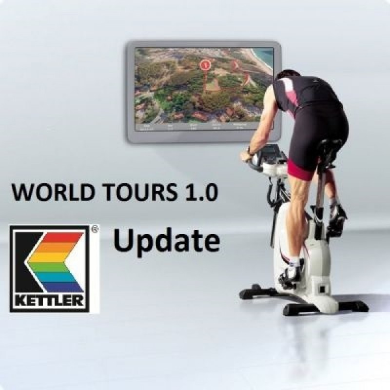 Poza Software Kettler WORLD TOUR 2.0 UPGRADE. Poza 1