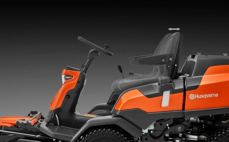 Poza Tractoare pentru tuns gazonul Husqvarna R 420TsX AWD. Poza 2