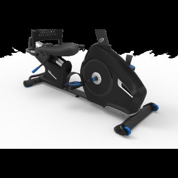 Bicicleta orizontala de exercitii NAUTILUS R626 Gri, Greutate suportata 136 Kg,, Boxe integrate, Bluetooth, USB, Ecran LCD, Ventilator, 29 programe antrenament. Poza 6