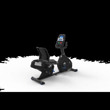 Bicicleta orizontala de exercitii NAUTILUS R626 Gri, Greutate suportata 136 Kg,, Boxe integrate, Bluetooth, USB, Ecran LCD, Ventilator, 29 programe antrenament. Poza 7