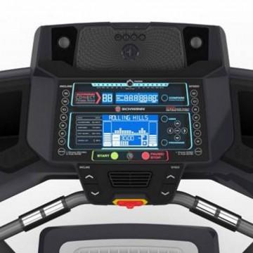 Banda de alergare SCHWINN 570T Gri, Greutate maxima suportata 136 Kg, Electrica, 26 de programe, Ventilator 3 viteze, Sistem de pliere SoftDrop™. Poza 3