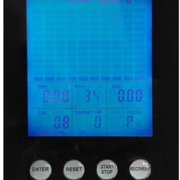 Banda de alergare TOORX TRX-SPEED-CROSS, Greutate utilizator 150 Kg, Suprafata de alergare curbata 160 x 48 cm. Poza 2