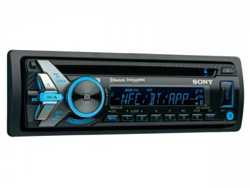 poza Sony Radio CD auto cu USB si Bluetooth MEX-N4100BT
