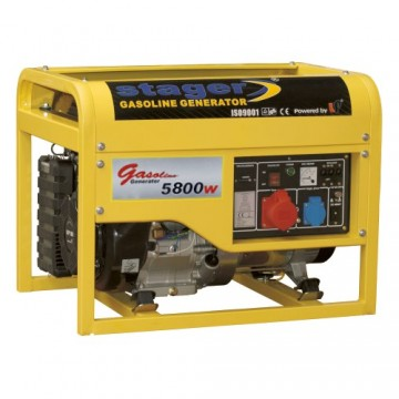 poza Generator open frame benzina Stager GG7500-3E+B