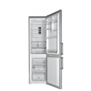 poza Combina frigorifica NoFrost Hotpoint XH9 T2Z XOZH, 369 l, A++, dimensiuni 200 x 60 cm, Inox
