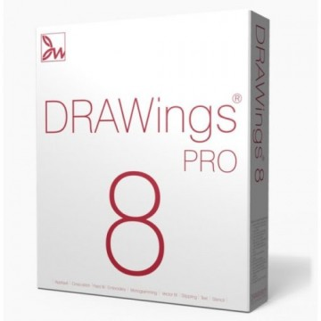 poza Software de broderie profesional DRAWings 8 PRO