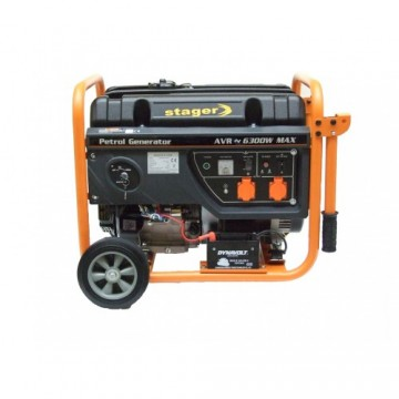poza Generator open frame benzina Stager GG7300EW