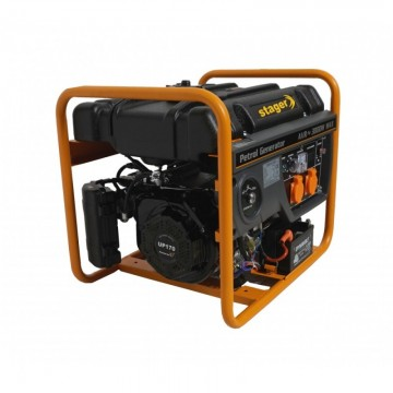 poza Generator open frame benzina Stager GG 3400E