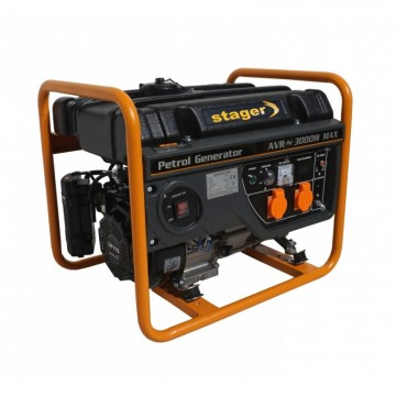 poza Generator open frame benzina Stager GG 3400