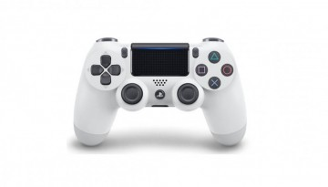 poza Controller Wireless Sony DualShock 4 White V2