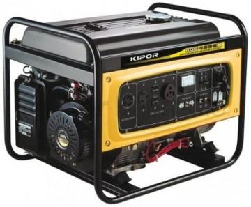 poza Generator Kipor KGE 4000 X, benzina