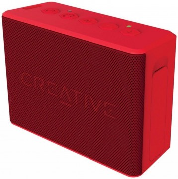 poza CREATIVE MUVO 2C Stereo - BLUETOOTH 2inPair Speakers, rosu, portabil