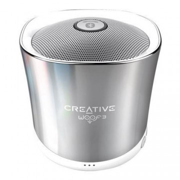 poza Creative bluetooth speaker WOOF3 winter chrome, portabil