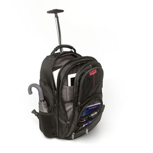 poza Verbatim Notebook Backpack Roller Paris 17 Black 49852