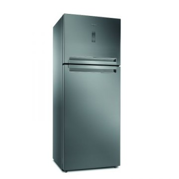 poza Frigider cu 2 usi Whirlpool T TNF 8211 OX, 423l, 180 cm, 6th sense function, digital display, A+ class, Inox