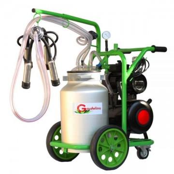 poza Aparat de muls vaci T140 Aluminiu IC Gardelina Green Line A18001101 1 post, 40 L