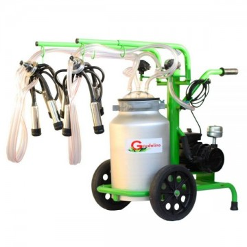 poza Aparat de muls vaci 240 Aluminiu IC Gardelina Green Line A18000701 2 posturi, 40 L
