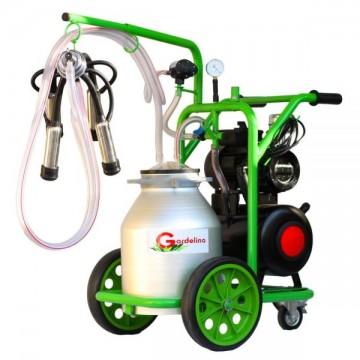 poza Aparat de muls vaci T130 Aluminiu IC Gardelina Green Line A18000901 1 post, 30 L