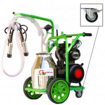 poza Aparat de muls vaci T130 Inox IC Gardelina Green Line A18001001 1 post, 30 L