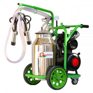 poza Aparat de muls vaci T140 Inox IC Gardelina Green Line A18001201 1 post, 40 L