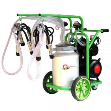 poza Aparat de muls vaci T240 Aluminiu IC Gardelina Green Line A18001301 2 posturi, 40 L