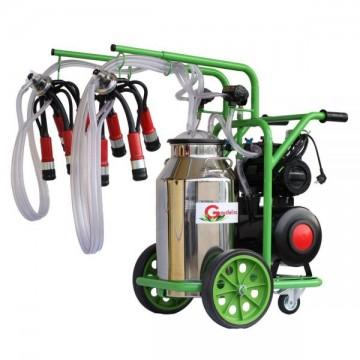 poza Aparat de muls vaci T240 Inox PC Gardelina Green Line A18001400 2 posturi, 40 L