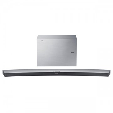 poza Soundbar curbat 4.1 SAMSUNG HW-J7501R subwoofer wireless 320W Bluetooth argintiu