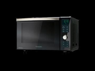 poza Cuptor cu microunde combi NN-DF383BEPG, 23l, 1000W, grill, Inverter, digital, negru,Panasonic