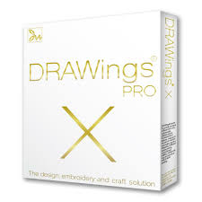 poza Software profesional de broderie DRAWings X PRO