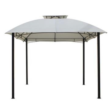 poza Pavilion,cort gradina RAKI 3x3m cadru metalic bej MN0166248