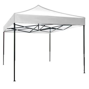 poza Pavilion,cort gradina pliabil RAKI 3x3m cadru metalic alb MN0166252