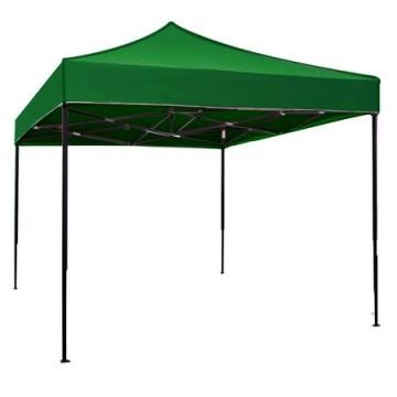 poza Pavilion,cort gradina pliabil RAKI 3x3m cadru metalic verde MN0166253