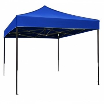 poza Pavilion,cort gradina pliabil RAKI 3x3m cadru metalic albastru MN0166254