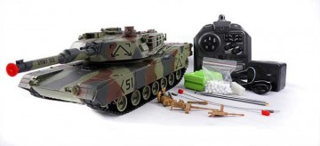 poza Tanc M1A2 Abrams 1:24 Huan Qi