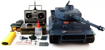poza Tanc Tiger I 1:16 cu generator de fum