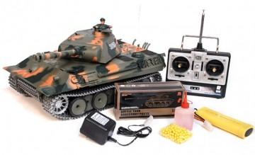 poza Tanc Panther 1:16 cu generator de fum