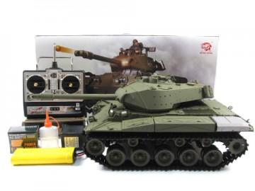poza Tanc M41A3 Walker Buldog 1:16 cu generator de fum