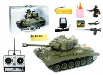 poza Tanc M26 Pershing ( Snow Leopard ) 1:16 cu generator de fum
