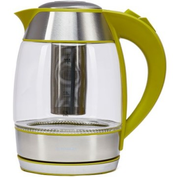 poza Fierbator Heinner HEK-TF2200GR cu filtru de ceai, 1.8l, Verde