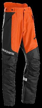 poza Pantaloni HUSQVARNA pentru grădinari, pentru tăierea arbuştilor şi utilizarea trimmerului, Technical, 580688150