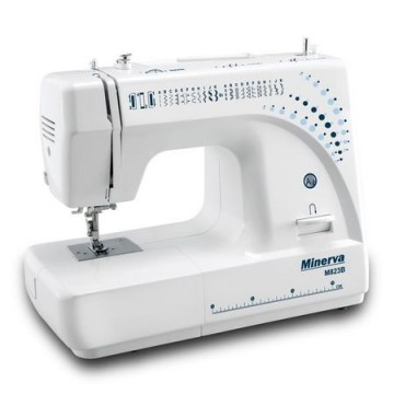 poza Masina de cusut Minerva M823B , 23 programe, 800 imp/min, Alb