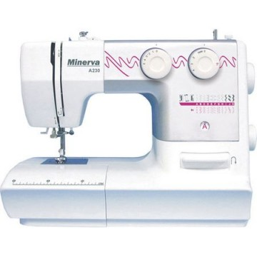 poza Masina de cusut Minerva A230, 23 programe, 800 imp/min, Alb