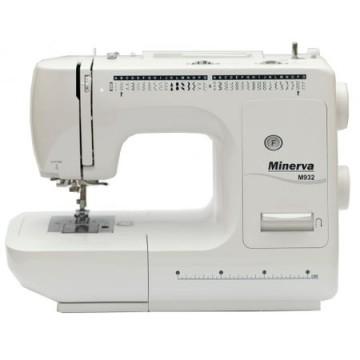 poza Masina de cusut Minerva M932, 35 programe, 800 imp/min, Alb
