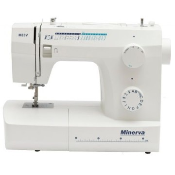 poza Masina de cusut Minerva M83V, 21 programe, 800 imp/min, Alb