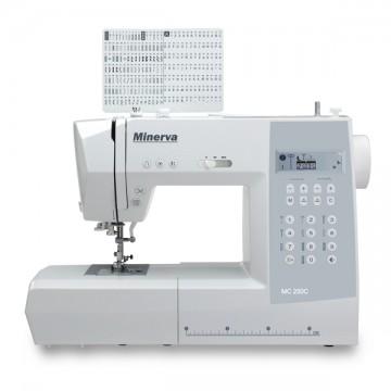 poza Masina de cusut MINERVA MC250C, 197 cusaturi, 8 tipuri de butoniere