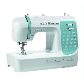 poza Masina de cusut Minerva MC40, 40 programe, 800 imp/min, Alb/Turcoaz