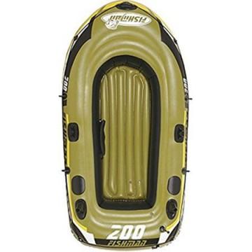 poza Barca gonflabila 200 Jilong Fishman, Greutate utilizator: 190 kg, Pompa inclusa, Vasle incluse