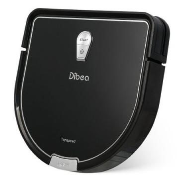 poza Robot Aspirator  DIBEA D960, Curatare umeda si uscata, Perie centrala, Autonomie 100-150 min